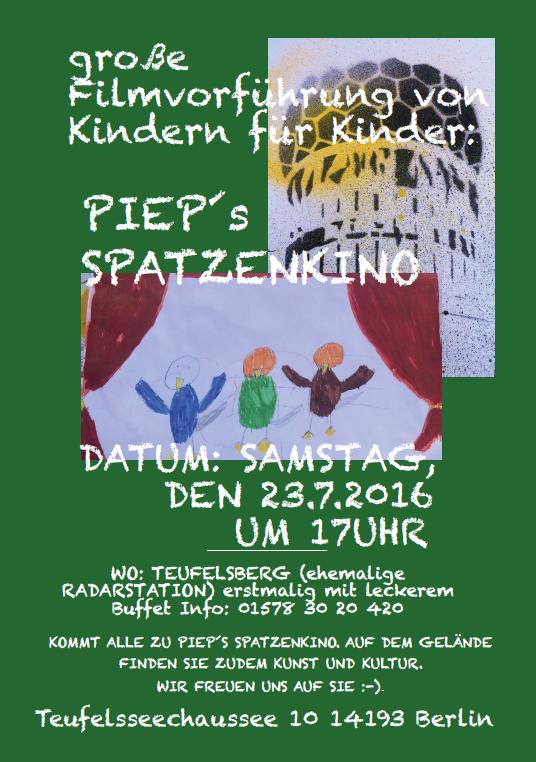 Pieps Spatzenkino 23.07.2016